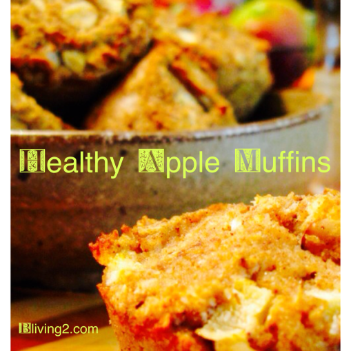 healthy apple muffins pic
