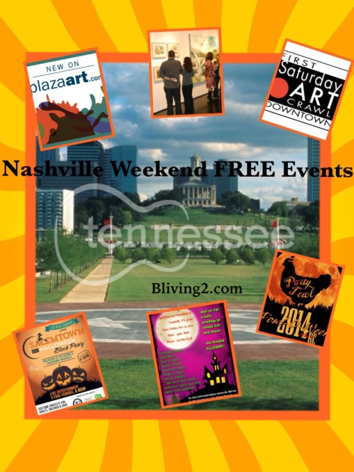 Nashville Free Events pic Oct