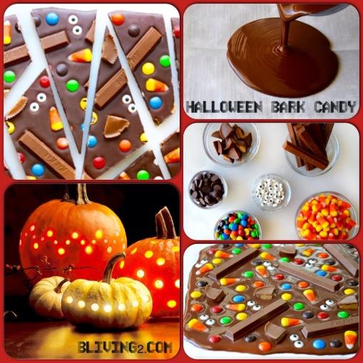 Halloween Bark Candy pic