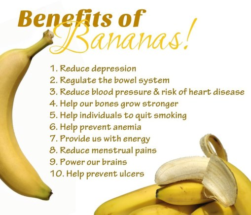 benefits of bananas pic