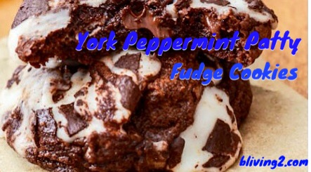 York Peppermint Patty Fudge Cookies pic