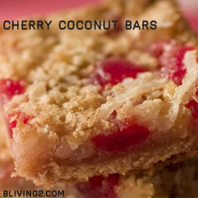 Cherry Coconut Bars pic