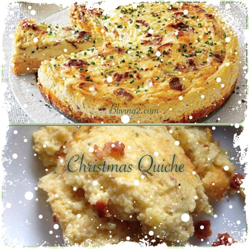 Christmas Quiche pic
