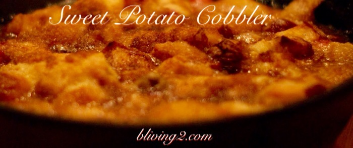 sweet potato cobbler pic