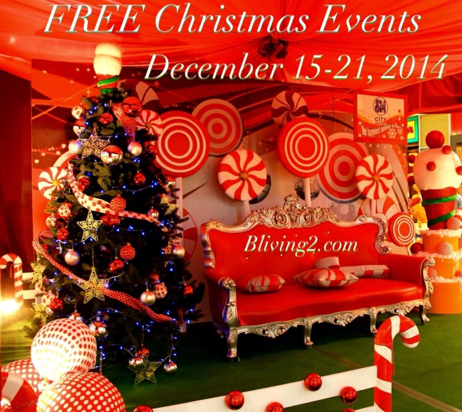 Free Christmas Events 12-15 - 12-21 pic