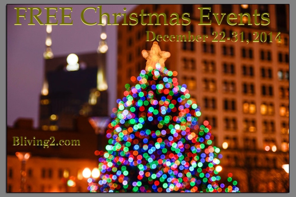 Free Christmas Events 12-22-12-31 pic