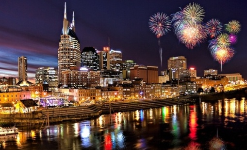 Nashville on New Years Eve