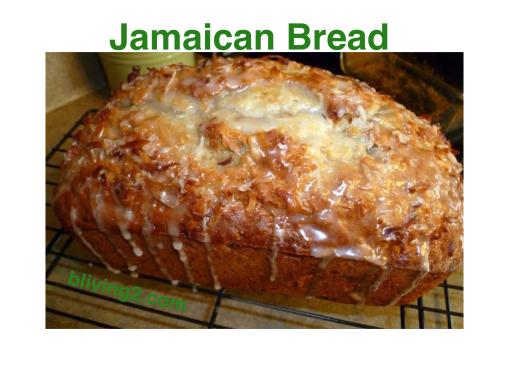 Jamaican Bread
