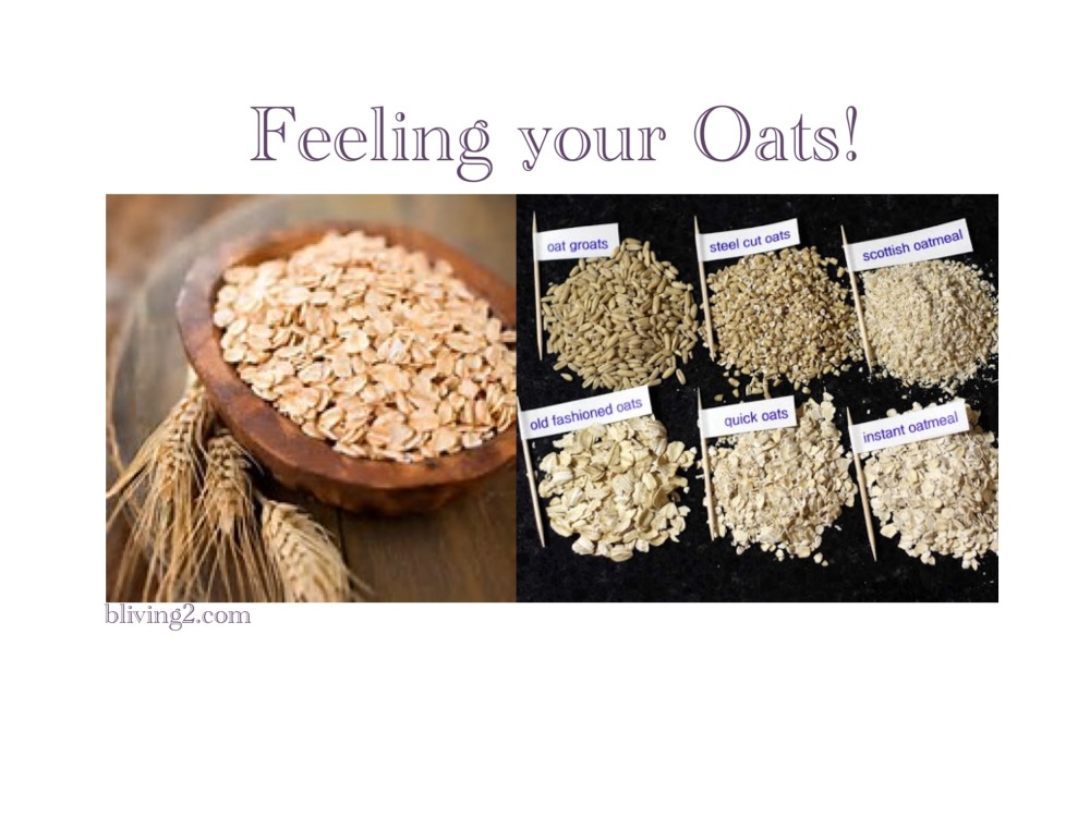 Feeling your oats
