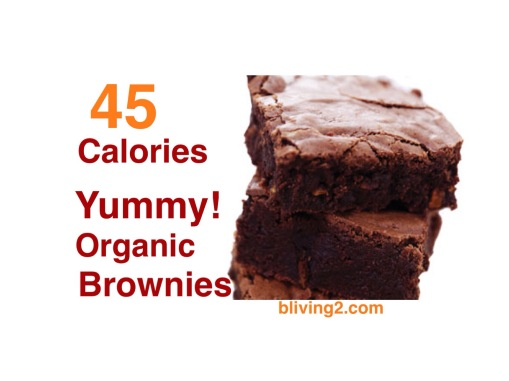 organic brownies