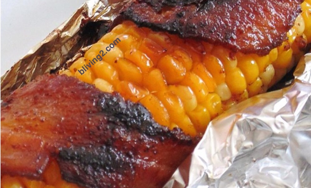 Grilled Bacon Corn